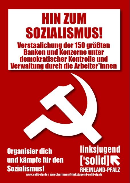 Hin zum Sozialismus!