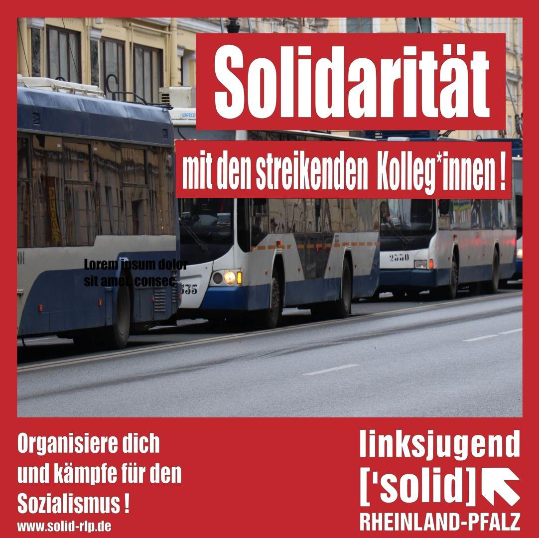 Busfahrer Streik Rheinland Pfalz